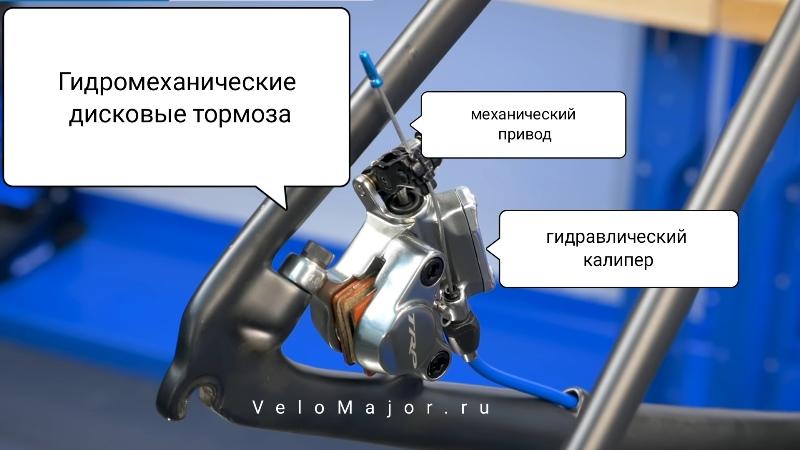 Гидромеханические дисковые тормоза